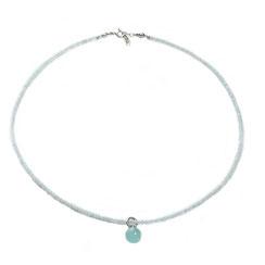 Steinkette, mondstein kette silber, Kette Edelstein, handgefertigte Edelstein Halskette Damen. Moderne feine Mondsteinkette, milchig-weiß.