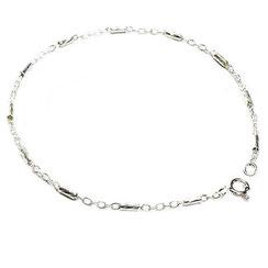 Armband Silber. Armband mit Stäbchen, 17 und 18 cm.