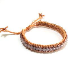 """Bändchenarmband. Macrame Armband im """"hippie-bohemian"""" Schmuck Style."""