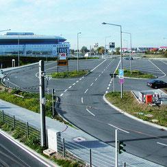 Erschließung SAP Arena