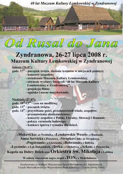 Od Rusal do Jana 2008