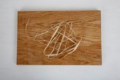 Holzschneidebrett aus Walnussholz