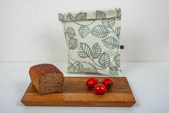 Brotsack aus bienenwachsbeschichtete Baumwolle