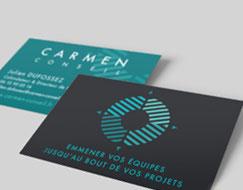Identite Visuelle de l'entreprise Carmen Conseil