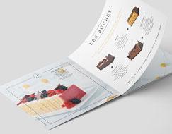 Logo de la Boulangerie Perrin réalisé par studio bel-camille