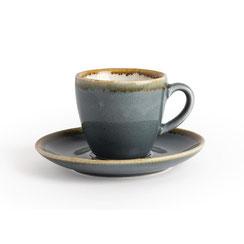 Espresso Tasse aus Porzellan Olympia Kiln. In verschiedenen Größen und Farben erhältlich.