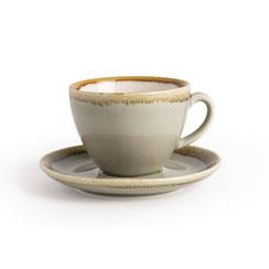 Kaffee Tasse aus Porzellan Olympia Kiln. In verschiedenen Größen und Farben erhältlich.