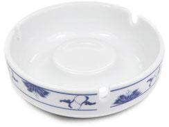 Runder Aschenbecher aus hochwertigem Porzellan aus Taiwan und China der Marken Tatung, Li, Cameo und Datung. In verschiedenen Größen und Motiven erhältlich.