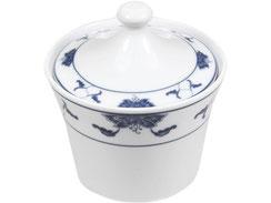 Zuckerdose aus hochwertigem Porzellan aus Taiwan und China der Marken Tatung, Li, Cameo und Datung. In verschiedenen Größen und Motiven erhältlich.