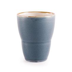 Tee Becher aus Porzellan Olympia Kiln. In verschiedenen Größen und Farben erhältlich.