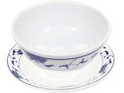 Schale aus hochwertigem Porzellan aus Taiwan und China der Marken Tatung, Li, Cameo und Datung. In verschiedenen Größen und Motiven erhältlich.