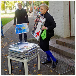 Kunstverein Emmerich, Vernissage, Kirsten Klöckner