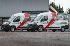 Werbebeschriftung Fiat Ducato