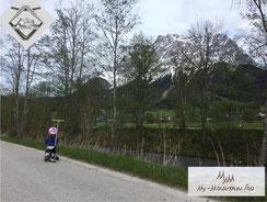 Zugspitze Bergschmuck Laufrad Tiroler Zugspitz Region