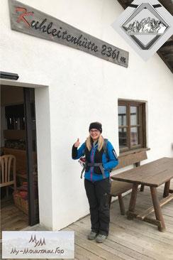 Kuhleitenhütte Bergschmuck Meran2000 Ifinger Klettersteig