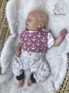 Baby Pucksack Strampelsack Babygirl 0-6 Monate