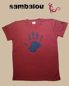 T-shirt Sambalou , Collection 100% coton biologique