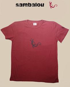 Sambalou T-shirt 100% coton biologique salamandre