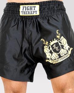 MuayThai-Shorts schwarz-gold