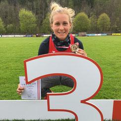 Julia Mayer Staatsmeisterschaften Bahn Mürzzuschlag 3. Platz Österreichische Meisterschaften