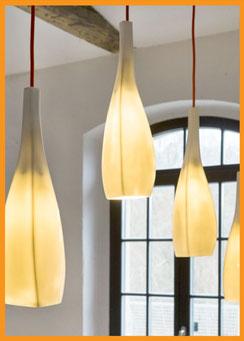 Licht, Leuchten, Porzellan, Bone China, Neuzeughammer Keramik, Beate Seckauer