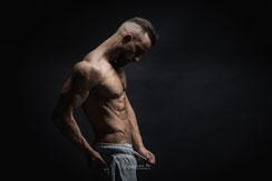 Lassen sie Ihren Muskelbody fotografieren