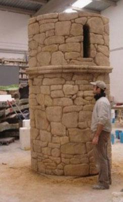 Torreón de Piedra, para stand ferial