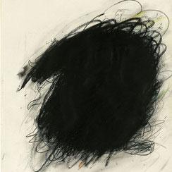 Arnulf Rainer, Ölkreide auf Papier, Ausstellung, Wien, galerie artziwna