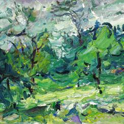 Garten Viktor Lederer, Ausstellung galerie artziwna Wien