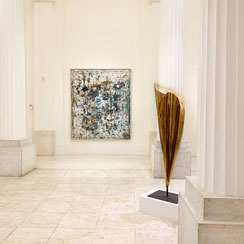 Ausstellung Hans Staudacher, galerie artziwna Wien