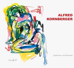 Alfred Kornberger Ausstellungskatalog 2018 der galerie artziwna