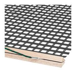 Abziehnetz mit Holzbalken € 121,00