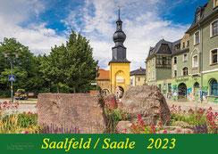 Saalfeld, Saale, Thüringen, Michael, Wenk, Wenki, Kalender, Geschenk, Daartor, Ostereierbaum, Klubhaus, Hutschachtel, 2019