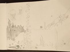 eine Unterwasserwelt