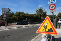 Détournement de panneau réalisé à Hyères