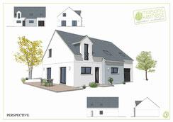 Maisons Kernest le constructeur plan maison 4 chambres etage