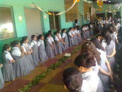 CEC Santa Sofía, El Salvador en la fiesta del Corpus Christi
