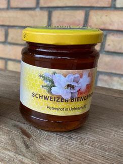 Schweizer Bienenhonig vom petershof bei Thun
