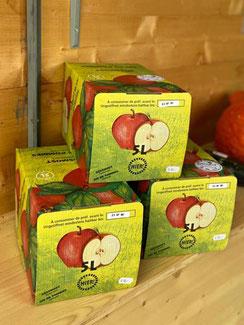 Apfelsaft vom petershof Kärselen