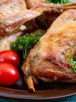 Kaninhenfleisch vom petershof Kärselen