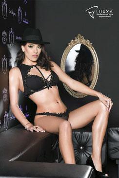 Luxxa Borsalino Fullcup BH, Eqaulette und Tanga