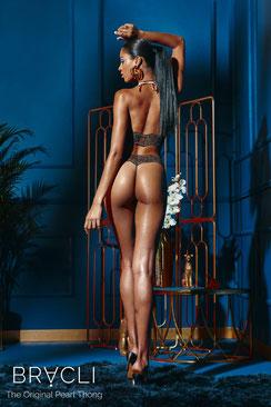 Bracli Sydney String Dark Single in schwarz