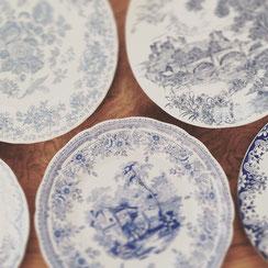 vaisselle vintage anglaise