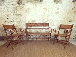 salon colonial vintage