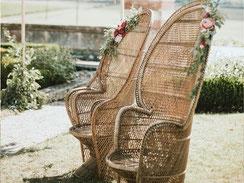 Location fauteuil Emmanuelle vintage