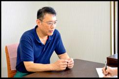 山口シェフと小玉経営支援員の対談