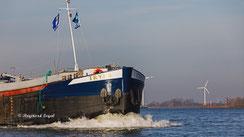 binnenschiff frachtschiff ms tyra