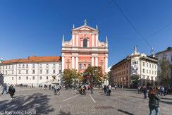 ljubljana slovenien altstadt