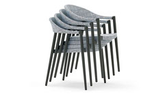 CLEVER stacking chair