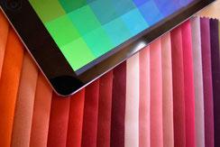 Farbmanufaktur broinger. Produkte nach Farben wählbar.